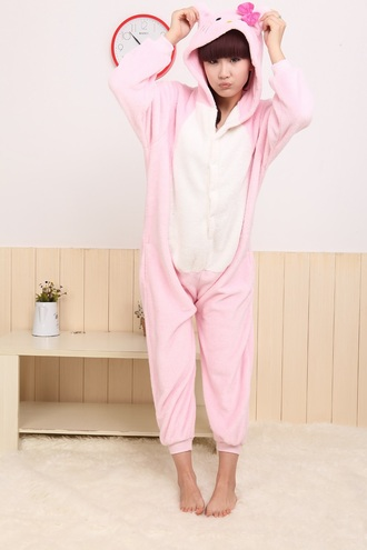 jumpsuit hello kitty onesies hello kitty kigurumi kigurumi kigurumi animal onesies kigurumi onesies kigurumi shop