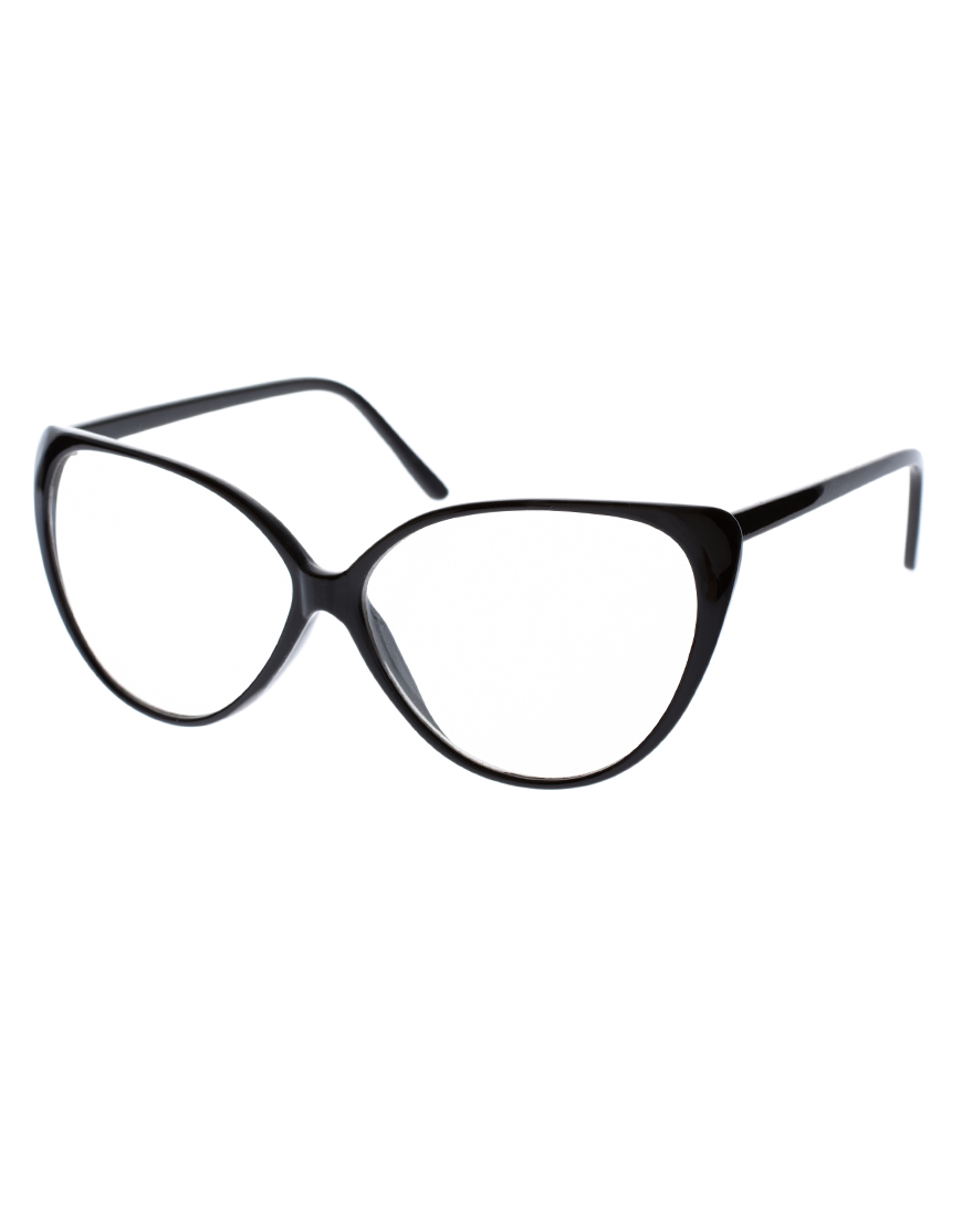 Asos cat eye glasses at asos.com
