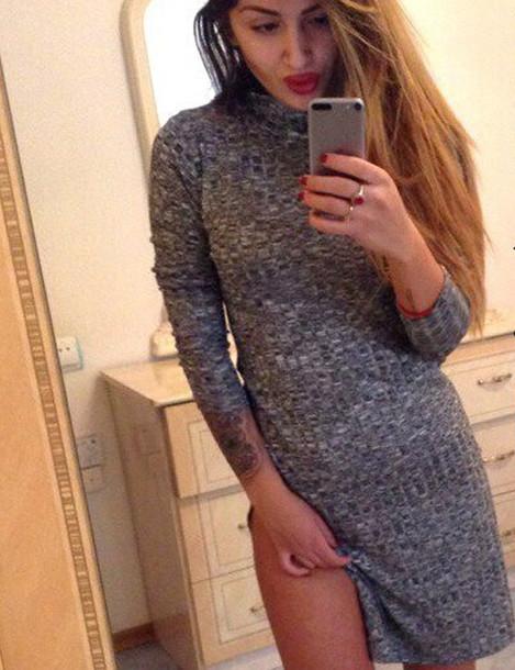 26ab74077af dress boho dress dress corilynn prom dress little black dress grey sweater  dress tunic dress crochet