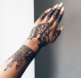 nail accessories henna