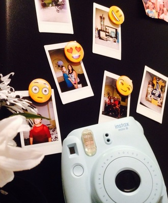 home accessory instax mini 8 magnet emoji print smiley