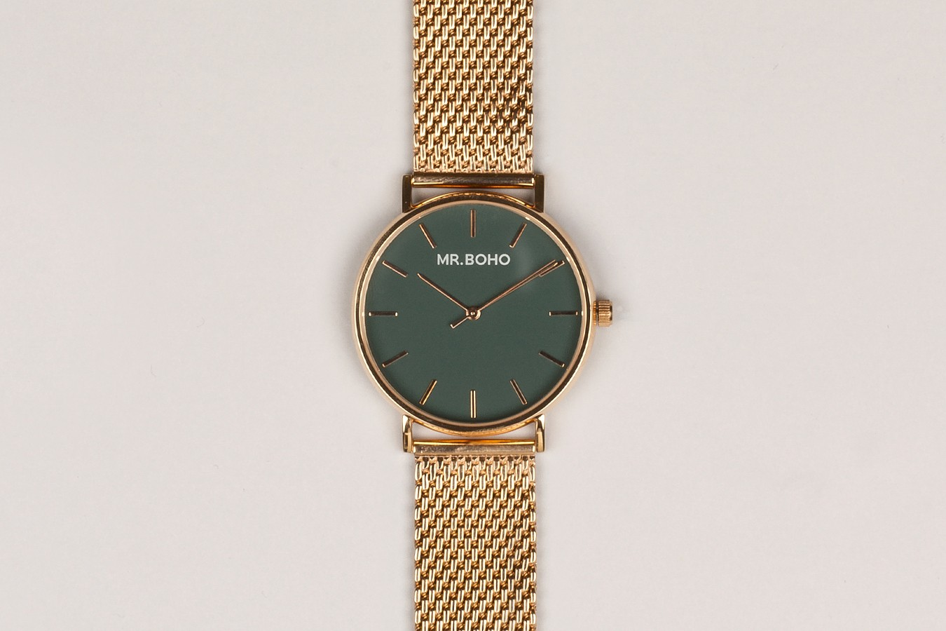 Green Metallic Copper - Watches | Mr. Boho