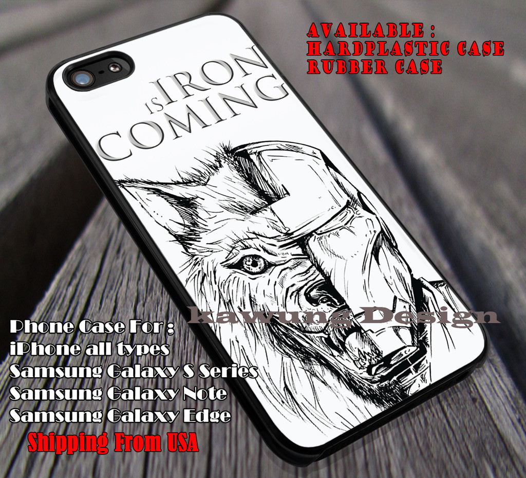 check out c1c73 599f2 Iron is Coming | House of Stark | Game of Thrones iPhone 6s 6 6s 6plus  Cases Samsung Galaxy s5 s6 Edge NOTE 5 4 3 #movie #gameofthrones #ironman ii