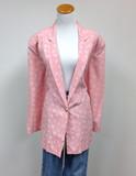 Smw pink thin blazer (m/l) (v)