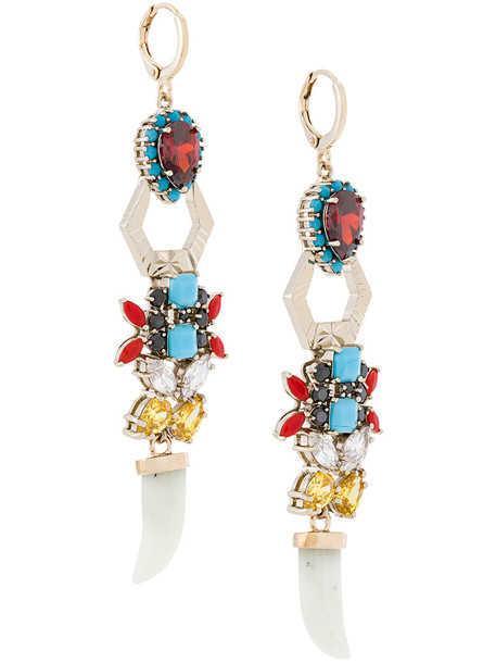 IOSSELLIANI women earrings gold jewels