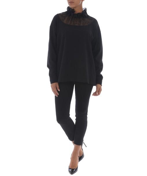 Mm6 Maison Margiela sweatshirt sheer sweater