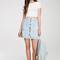 Button-front denim skirt | forever 21 canada