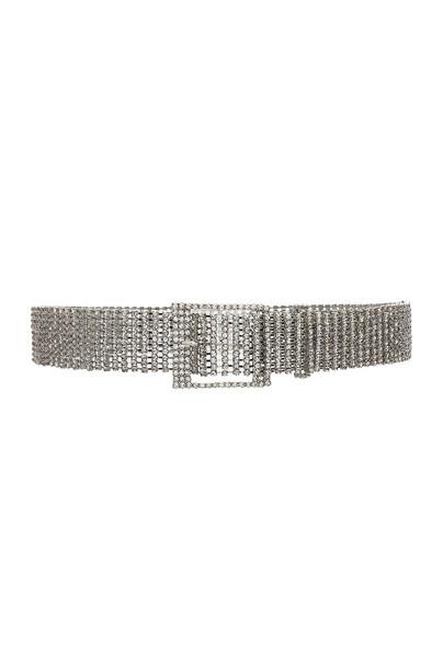 B-Low the Belt Farah Belt in metallic / silver