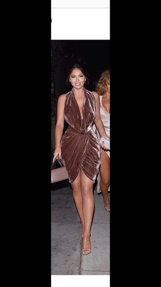 dress metallic party dress velvet dress
