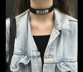 jewels,black,leather,metal,hipster,alternative,choker necklace,tumblr