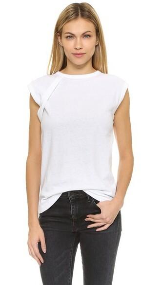 t-shirt shirt sleeveless white top
