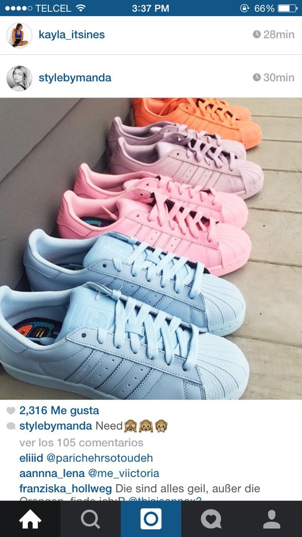 Adidas Original Shoes Colors