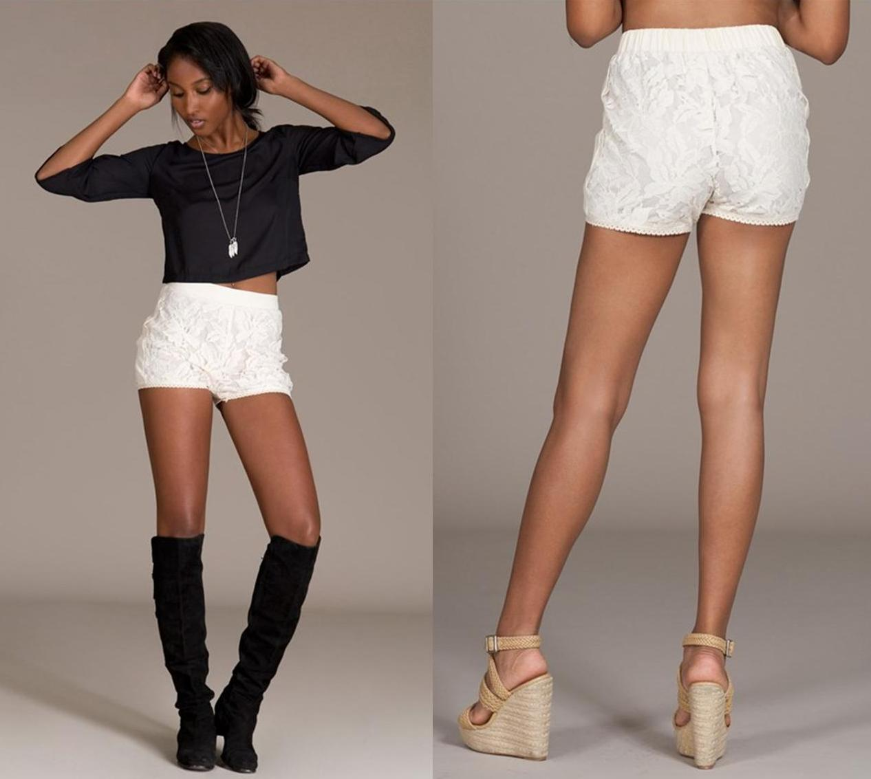 Lace shorts · trendyish · online store powered by storenvy