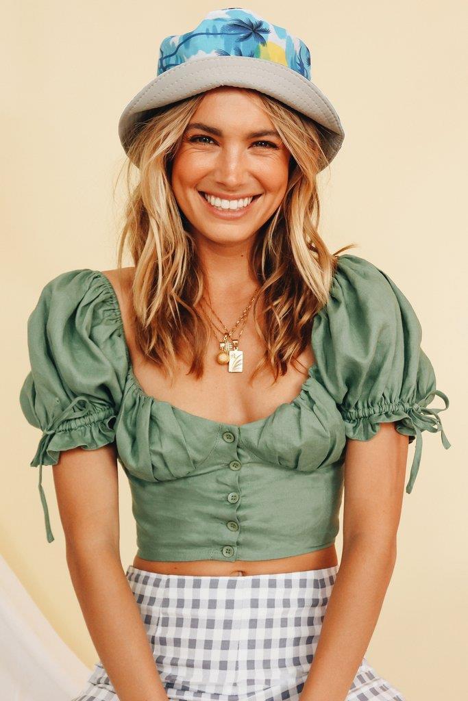 The Magazine Bucket Hat // Palm