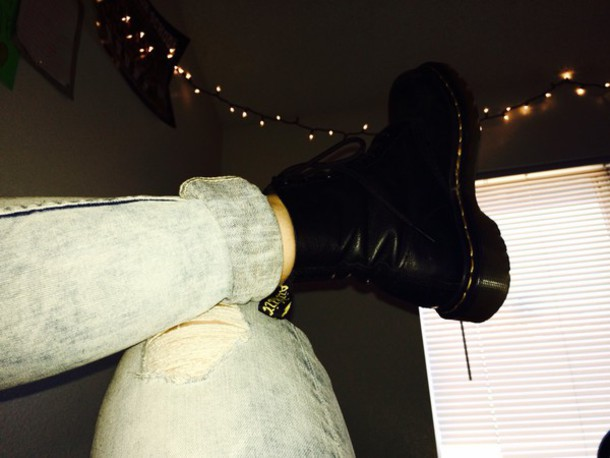 shoes DrMartens soft leather