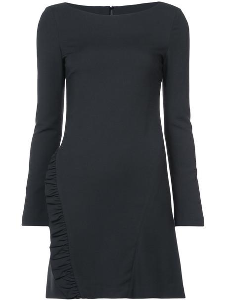 Thomas Wylde dress women black silk wool