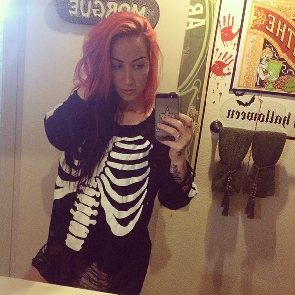 ash costello skeleton sweater sweater