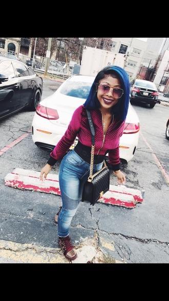 jacket amourjayda jeans