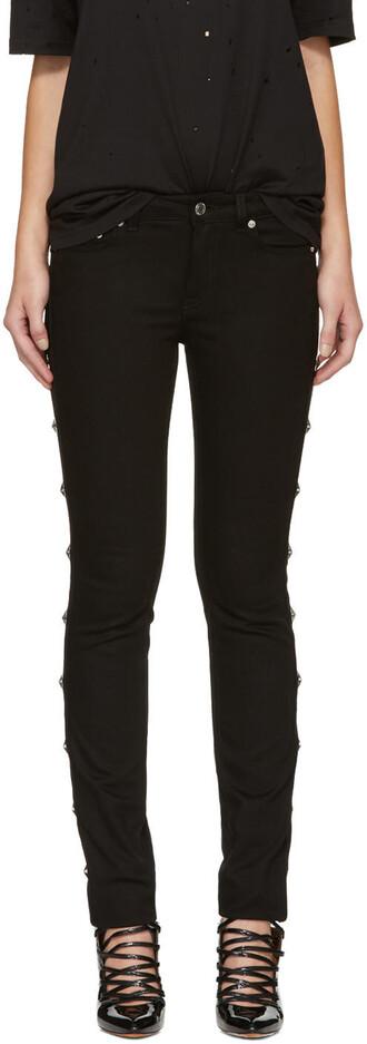 jeans studded black