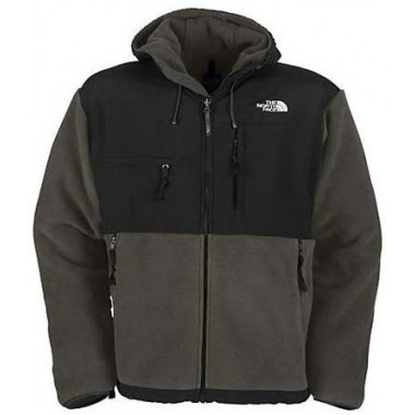 North Face Mens Hoodie Jacket Grey Bj130184