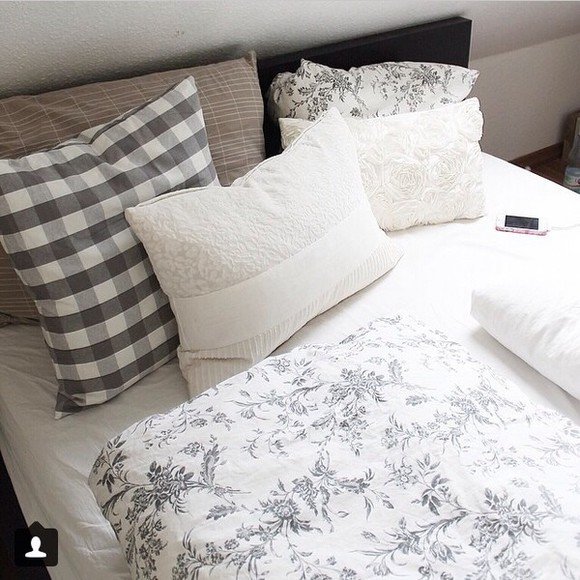 phone phone case print bedding black white pillows