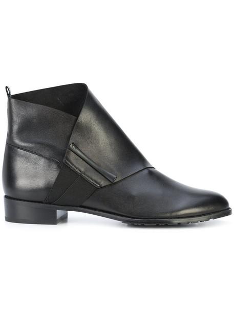 STUART WEITZMAN women classic leather black shoes