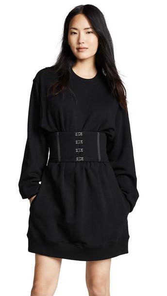 Jonathan Simkhai Casual Corset Dress in black