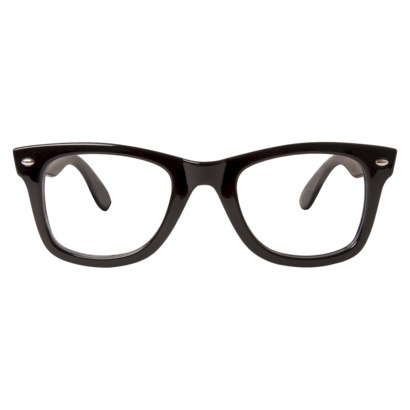 Clear Lens Fashion Glasses - Black : Target
