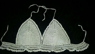 swimwear crochet crocheted bikini white crochet white summer summer bikini crochet bikini