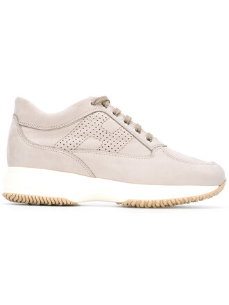 women sneakers lace leather nude shoes