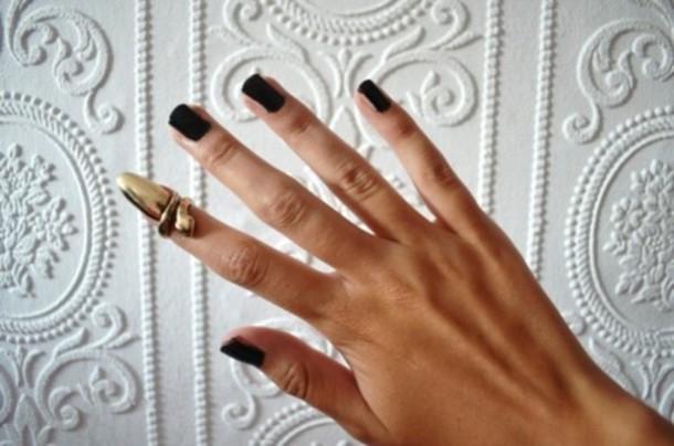 jewels nails ring