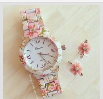 jewels watch floral flowers