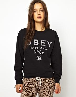 Obey | Obey 89 Propaganda Sweatshirt at ASOS