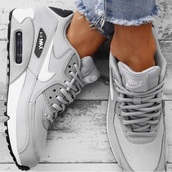 shoes,grey,nike,air max,nike air max 90