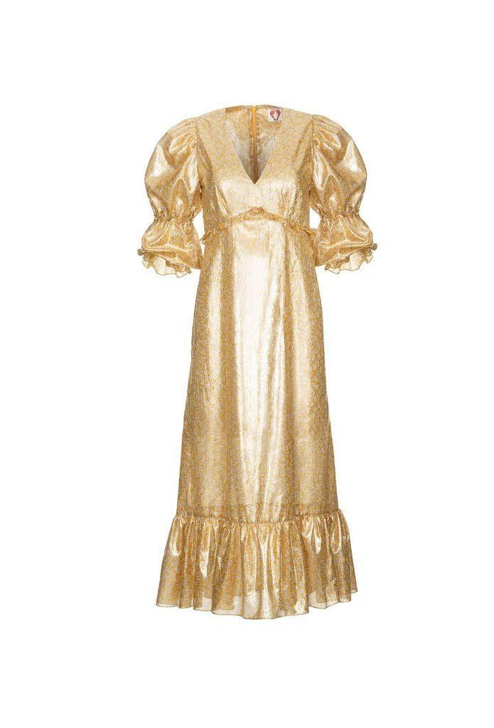 Rosemary Dress - Gold