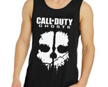 Call Of Duty Ghosts Black Tank Top Sleveless