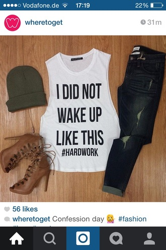top outfit cool tumblr outfit casual jeans