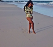 swimwear,Angela Simmons,two-piece