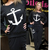 Aliexpress.com : Buy Женщины 2014 зима мода пуловер толстовка костюм Harajuku якоря печатных толстовка костюм свободно спортивной 2 шт. костюм спортивный костюм from Reliable костюм спортивный костюм suppliers on Happy Moments Store