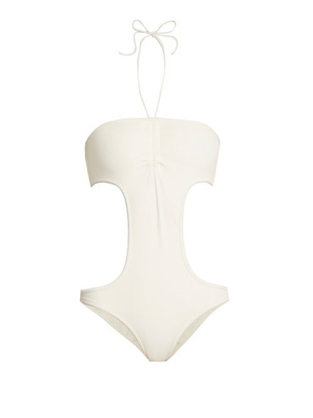Solid & Striped - The Carolyn Cut Out Swimsuit - Womens - Cream