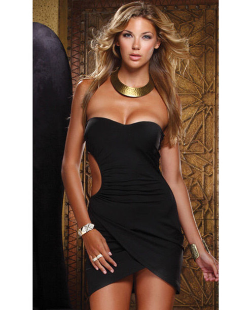 83bca2db1 dress cut out bodycon dress little black dress black sexy dress green club  dress clubwear