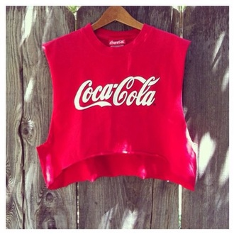 shirt fashion t-shirt style coca cola