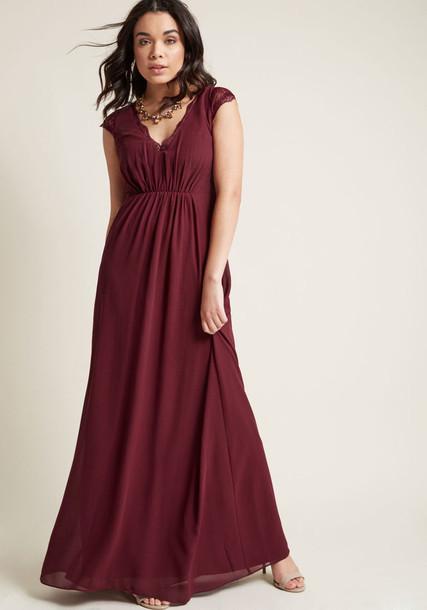 8421-1 dress maxi dress gown maxi chiffon back sheer lace burgundy red