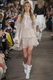 dress,philosophy di lorenzo serafini,romee strijd,milan fashion week 2016,spring outfits,spring dress