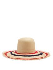 hat,straw hat,navy,red