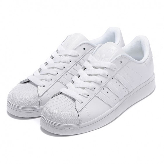 adidas superstar casual shoes all white