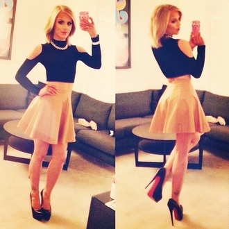 top youtube trans youtuber gorgeous skirt long sleeves