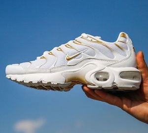 Nike Air Max Plus TN Ultra White Golden Copuon