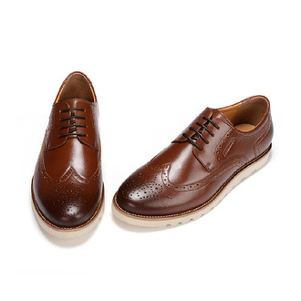 shoes fuguiniao cut-out brogues brogue shoes leather brogues mens shoes oxfords dress shoes