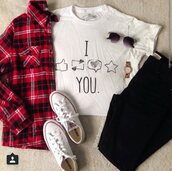 blouse,shorts,top,socks,shirt,tumblr,hipster,boho,boho chic,swag,converse,jeans,crop tops,graphic tee,sunglasses,flannel shirt,red,white,black,instagram,indie,quote on it,pretty,cool,love,white t-shirt,black jeans,white shoes,fall outfits,summer,outfit,outfit idea,tumblr outfit,tumblr clothes,tumblr shirt,teenagers,spring,spring outfits,winter outfits,ootd